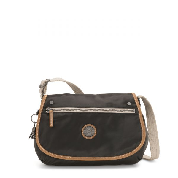 KOUROU Delicate Black CROSSBODY by Kipling Front