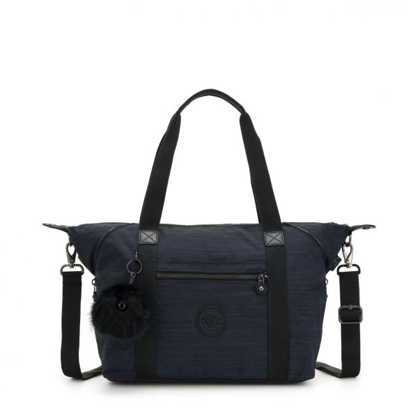 ART ESSENTIAL True Dazz Navy TOTE by Kipling Front