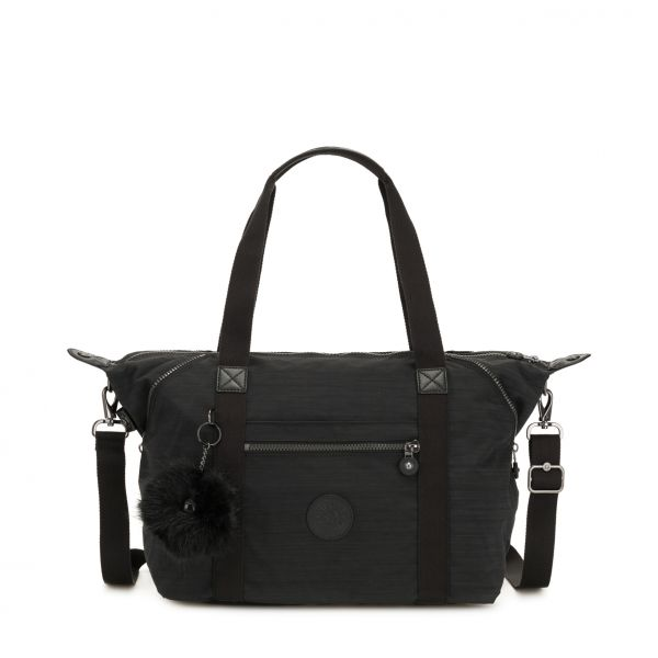 ART ESSENTIAL True Dazz Black TOTE by Kipling Front