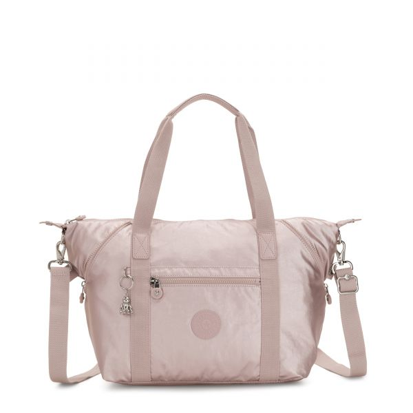 ART Metallic Rose TOTE by Kipling Front