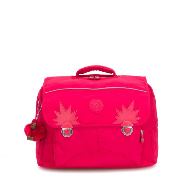 INIKO True Pink BACKPACKS by Kipling Front