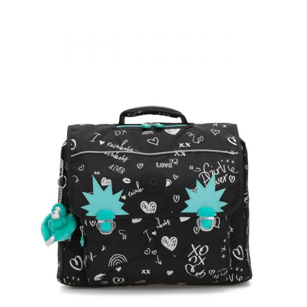 INIKO Girl Doodle BACKPACKS by Kipling Front