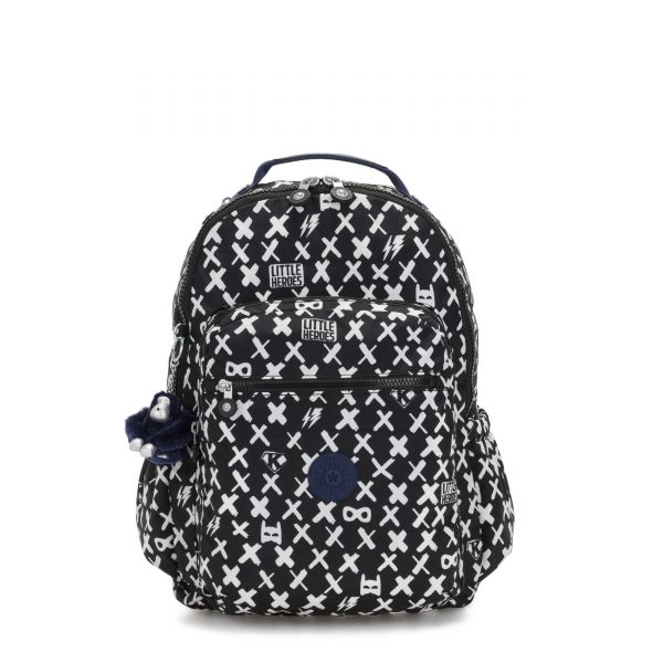 SEOUL GO Boy Hero BACKPACKS by Kipling Front