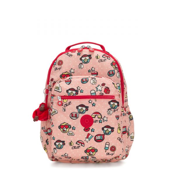 SEOUL GO Monkey Play BACKPACKS by Kipling Front