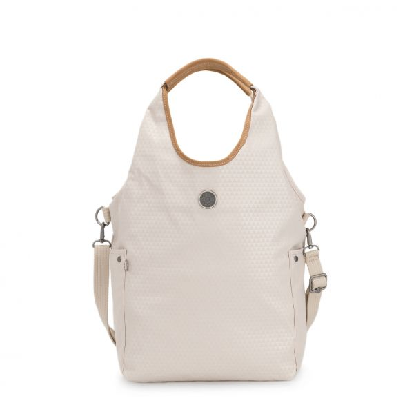 URBANA Triangle White SHOULDERBAGS by Kipling Front