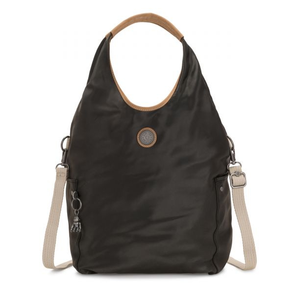 URBANA Delicate Black SHOULDERBAGS by Kipling Front