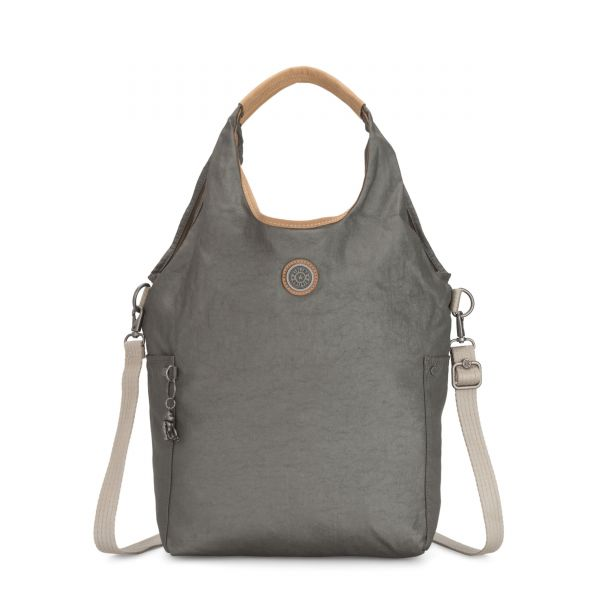 URBANA Dark Metal SHOULDERBAGS by Kipling Front