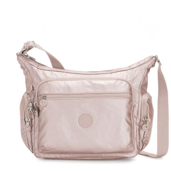 GABBIE Metallic Rose CROSSBODY by Kipling Front