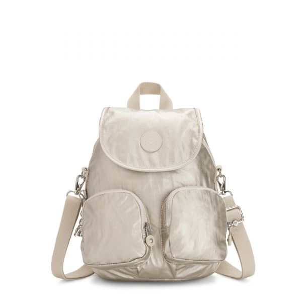 FIREFLY UP Cloud Metal BACKPACKS by Kipling Front