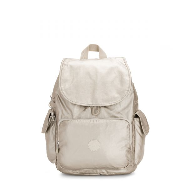 CITY PACK Cloud Metal BACKPACKS by Kipling Front