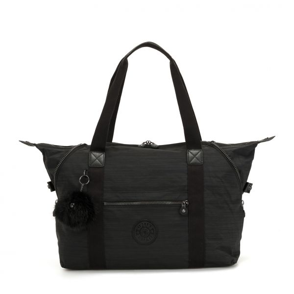 ART M True Dazz Black TOTE by Kipling Front