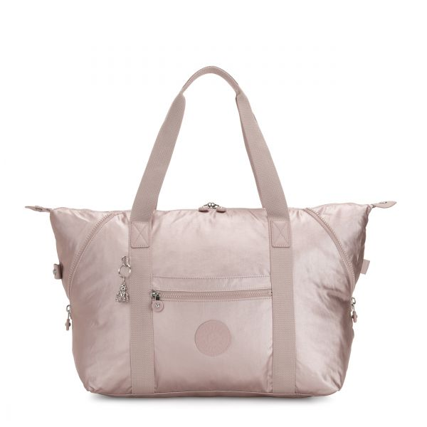 ART M Metallic Rose TOTE by Kipling Front