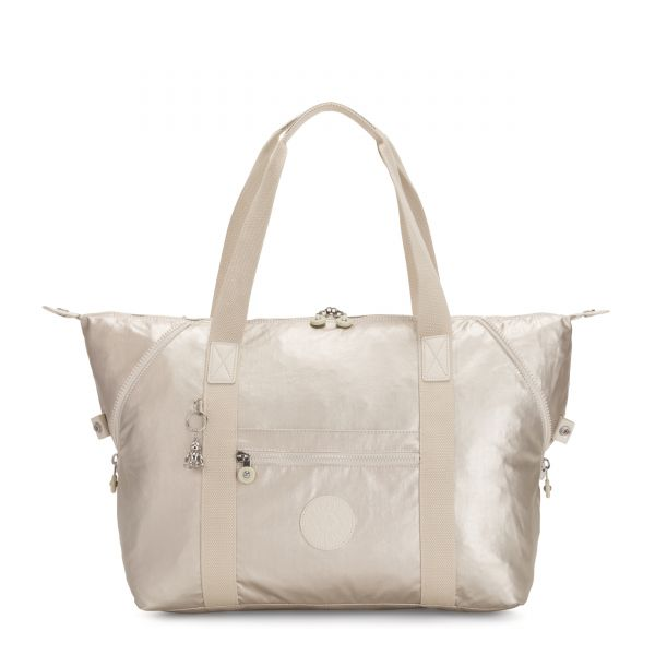 ART M Cloud Metal TOTE by Kipling Front