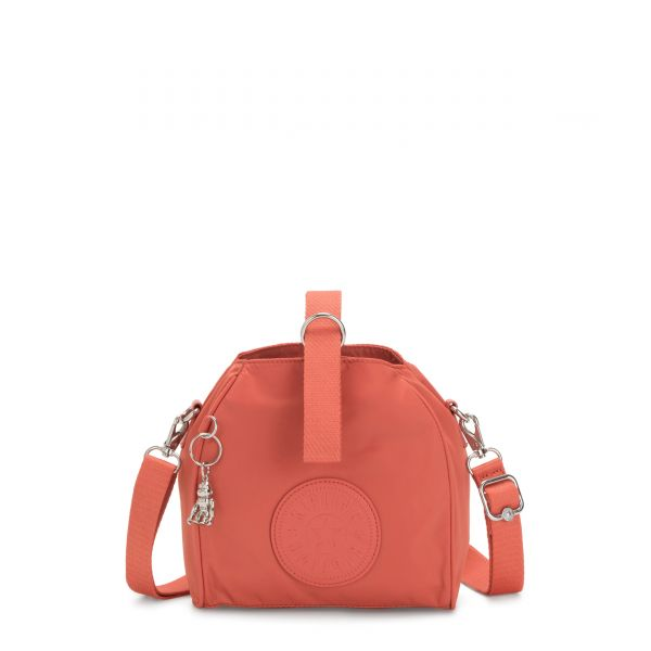 IMMIN Soft Orange SHOULDERBAGS by Kipling Front