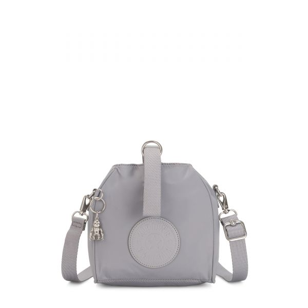IMMIN Natural Grey SHOULDERBAGS by Kipling Front