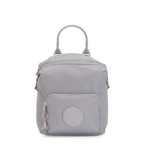 NALEB Natural Grey BACKPACKS by Kipling Front