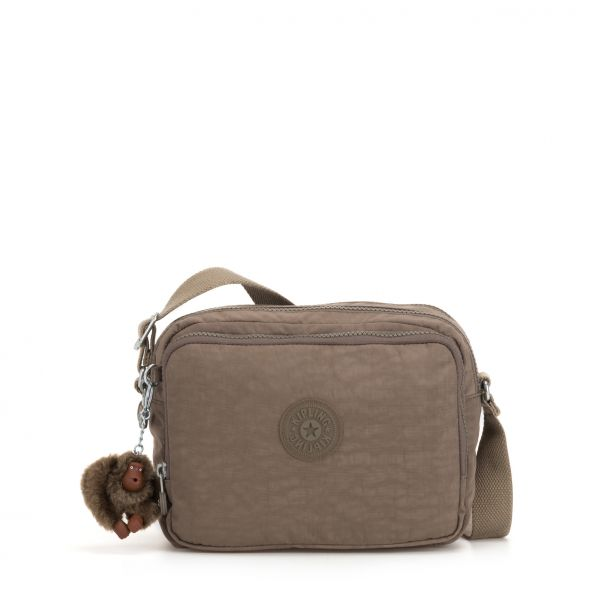 SILEN ESSENTIAL True Beige CROSSBODY by Kipling Front