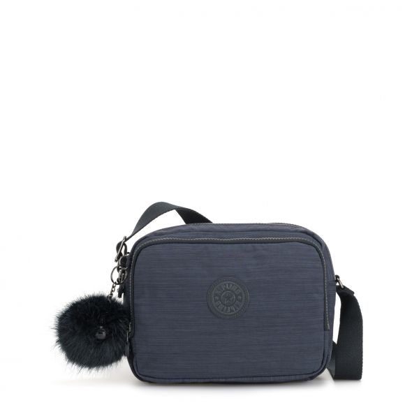 SILEN ESSENTIAL True Dazz Navy CROSSBODY by Kipling Front