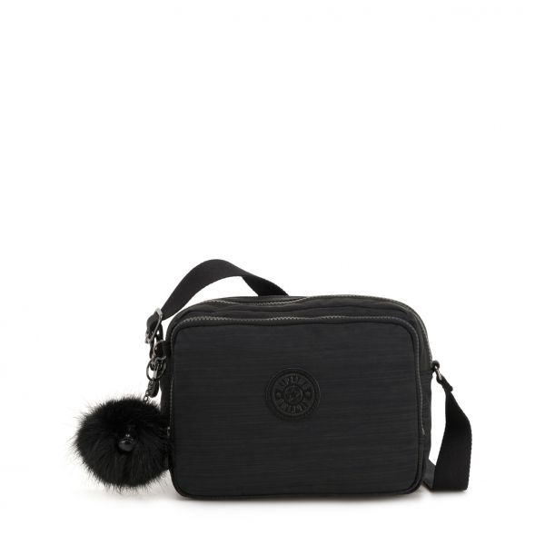 SILEN ESSENTIAL True Dazz Black CROSSBODY by Kipling Front