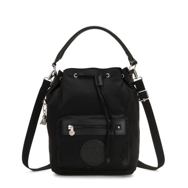 VIOLET Galaxy Black BACKPACKS by Kipling Front