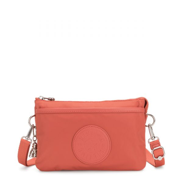 RIRI Soft Orange POUCHES/CASES by Kipling Front