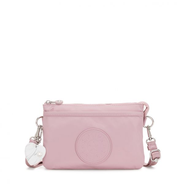 RIRI Faded Pink POUCHES/CASES by Kipling Front