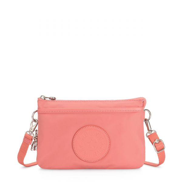 RIRI Coral Pink POUCHES/CASES by Kipling Front