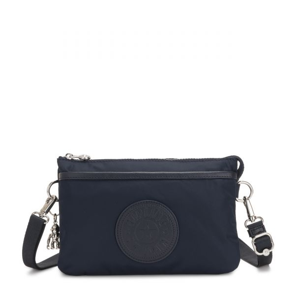 RIRI True Blue Twill POUCHES/CASES by Kipling Front