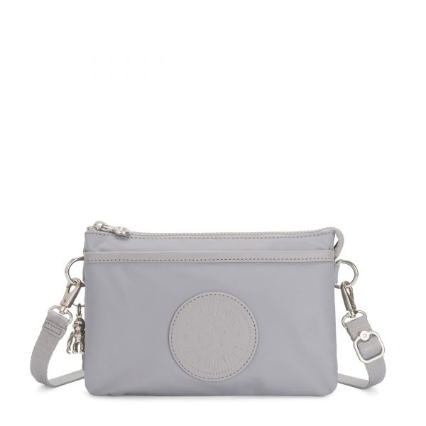 RIRI Natural Grey POUCHES/CASES by Kipling Front