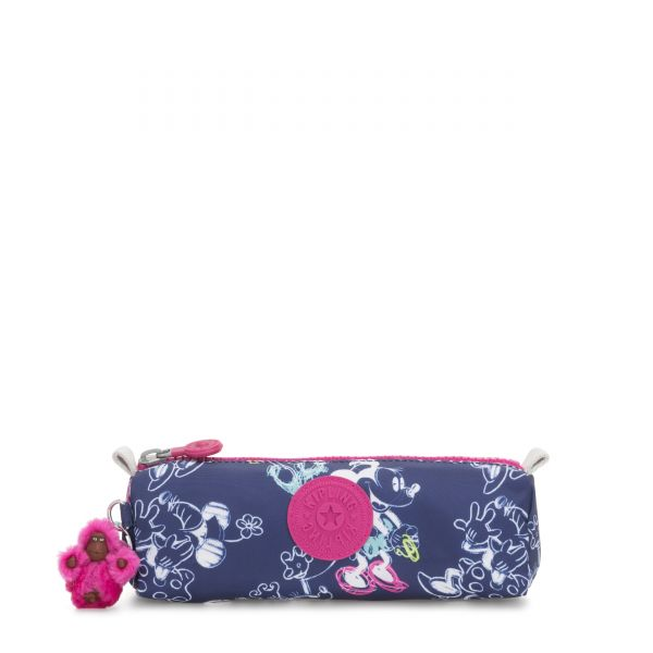 D FREEDOM Doodle Blue POUCHES/CASES by Kipling Front