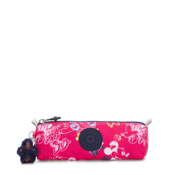 D FREEDOM Doodle Pink POUCHES/CASES by Kipling Front