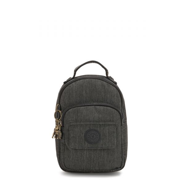 ALBER Black Indigo BACKPACKS by Kipling Front