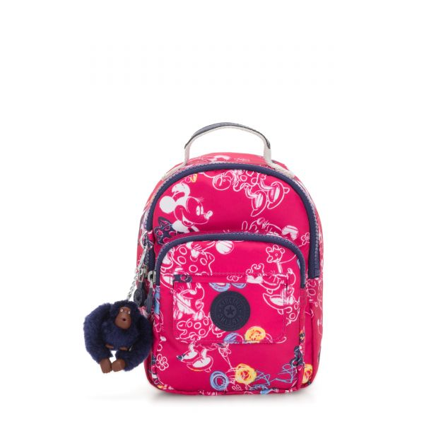 D ALBER Doodle Pink BACKPACKS by Kipling Front