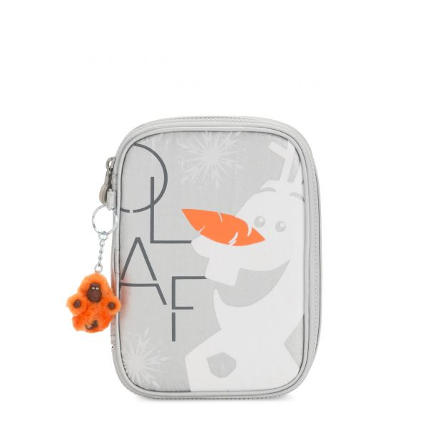 D 100 PENS Frosted Olaf POUCHES/CASES by Kipling Front