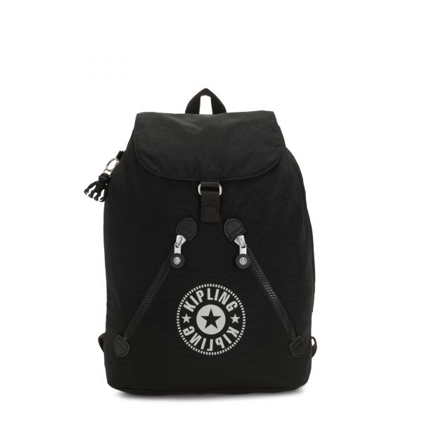 FUNDAMENTAL Lively Black BACKPACKS by Kipling Front