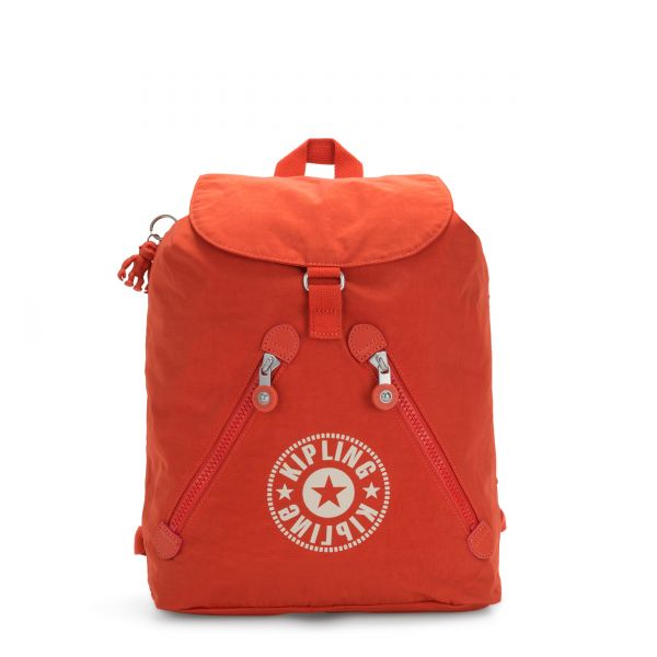 FUNDAMENTAL NC Funky Orange Nc BACKPACKS by Kipling Front