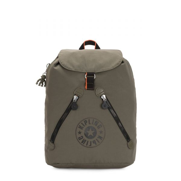 FUNDAMENTAL NC Cool Moss New Classics BACKPACKS by Kipling Front