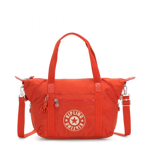 ART NC Funky Orange Nc TOTE by Kipling Front