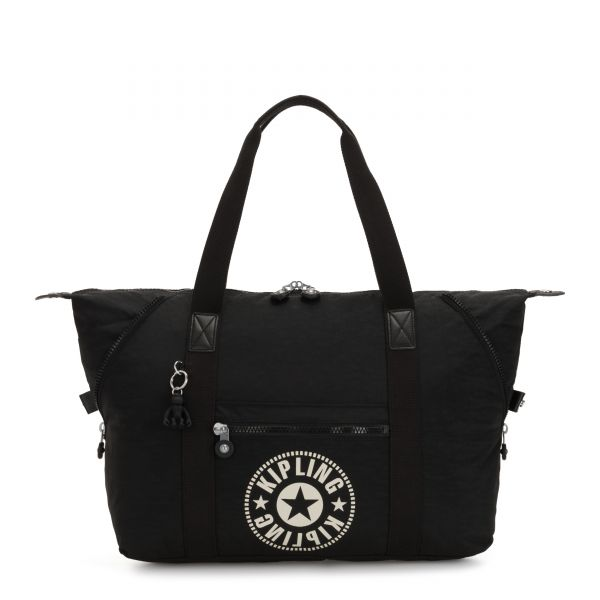ART M Lively Black TOTE by Kipling Front