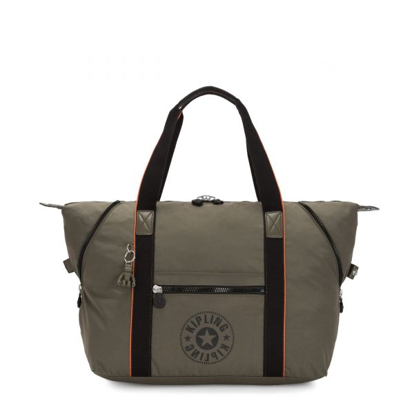 ART M Cool Moss New Classics TOTE by Kipling Front