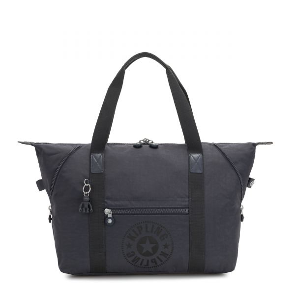 ART M Night Grey Nc TOTE by Kipling Front
