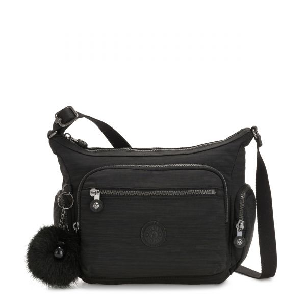 GABBIE S True Dazzling Black CROSSBODY by Kipling Front