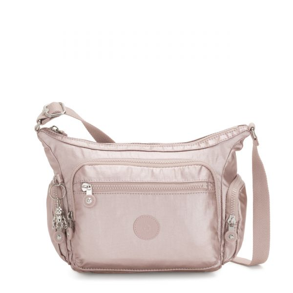 GABBIE S Metallic Rose CROSSBODY by Kipling Front