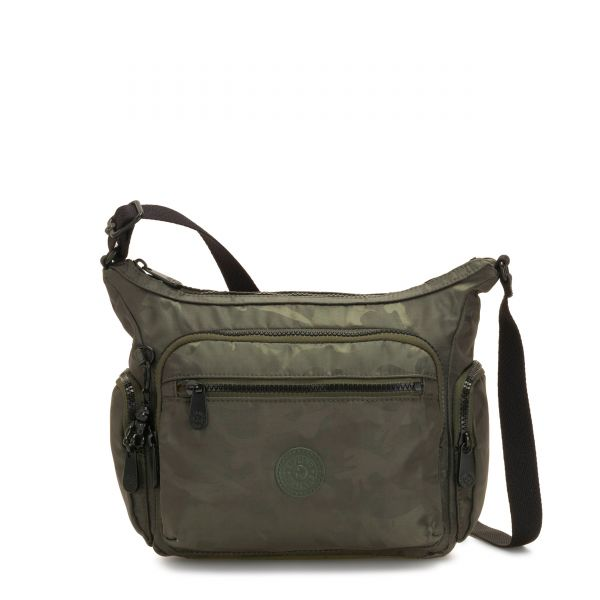 GABBIE S Satin Camo CROSSBODY by Kipling Front