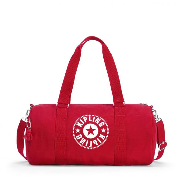 ONALO Lively Red DUFFLE by Kipling Front