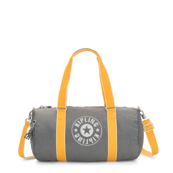 ONALO Dark Carbon Yellow WEEKENDER by Kipling Front