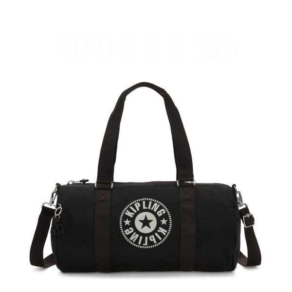 ONALO Lively Black DUFFLE by Kipling Front