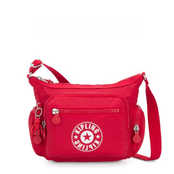 GABBIE S Lively Red CROSSBODY by Kipling Front