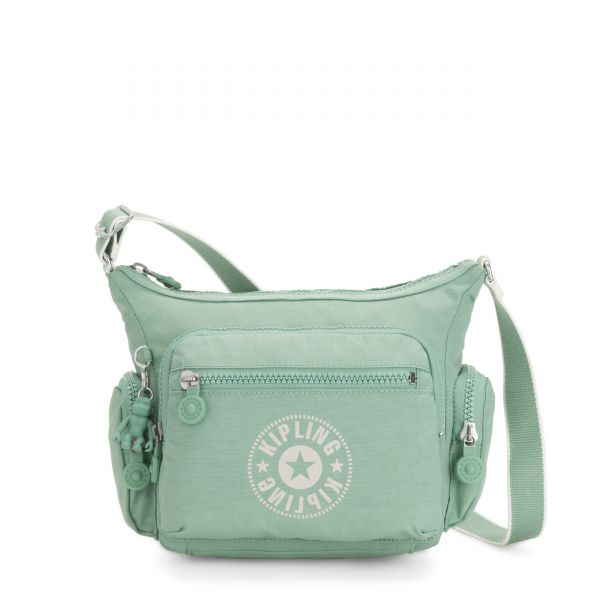 GABBIE S Frozen Mint CROSSBODY by Kipling Front
