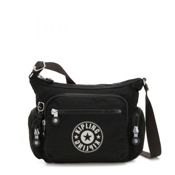 GABBIE S Lively Black CROSSBODY by Kipling Front